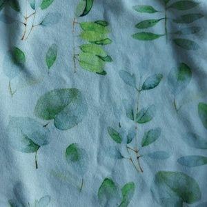 Lark Organic One Pieces - Organic Watercolor Leaf Summer Onesie